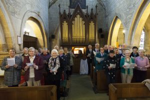 Choir of St Swithin's Quinton