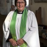 Rev Ros Greenhalgh at St. Swithin's Church