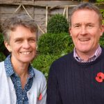 Rec Canon Phil Andrew and wife Sue